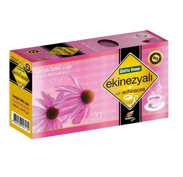 Shiffahome Ekinezyalı Karışık Bitki Çayı 20 Süzen (2`li Paket)
