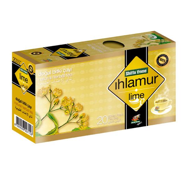 Shiffahome Ihlamur Bitki Çayı 20 Süzen (2`li Paket)
