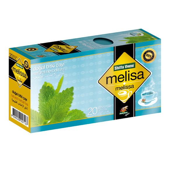 Shiffahome Melisa Bitki Çayı 20 Süzen (2`li Paket)
