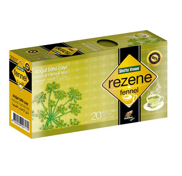 Shiffahome Rezene Bitki Çayı 20 Süzen (2`li Paket)