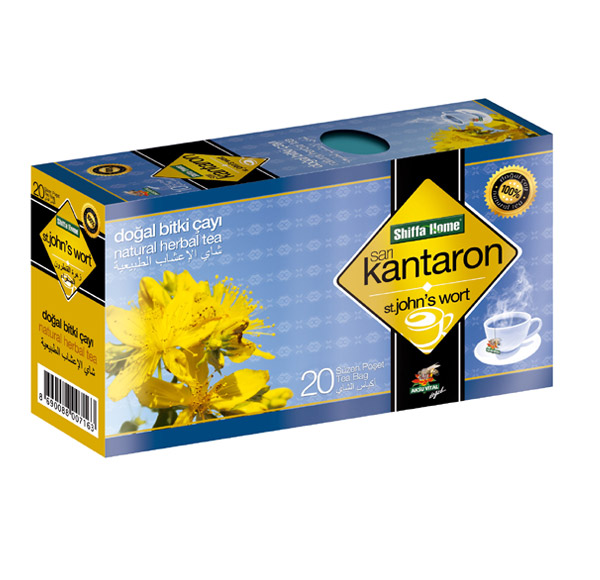 Shiffahome Sarı Kantaron Bitki Çayı 20 Süzen (2`li Paket)